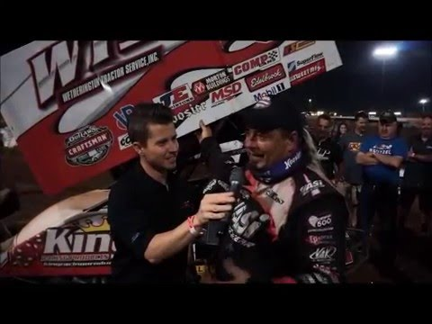 Victory Lane from I-30 Speedway | World of Outlaws Craftsman Sprint Car Series