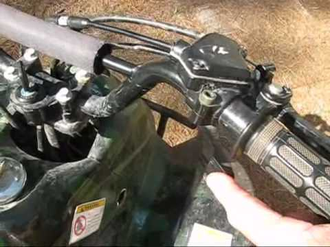 110cc ATV Help - Trouble Starting the Engine - YouTube