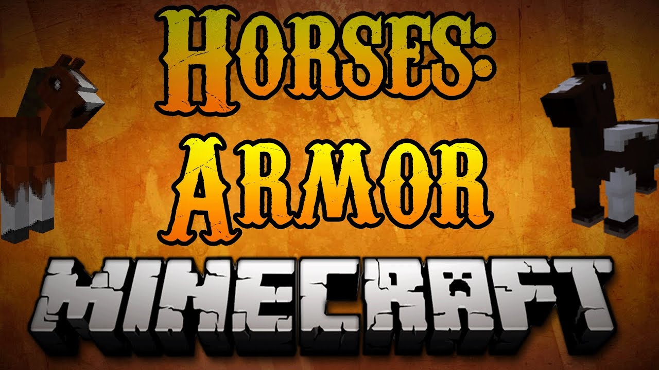 Minecraft Horses - How to Craft Horse Armor Minecraft 1 8