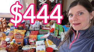 Enormous ONCE A MONTH Grocery Haul | Stock Up Haul from Aldi & Walmart