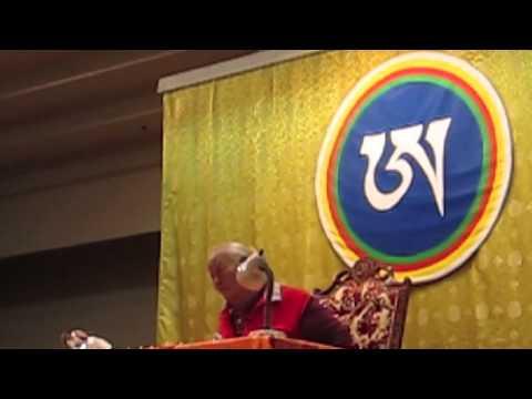 """Chögyal Namkhai Norbu Rinpoche   """"Nothing to change"""""""