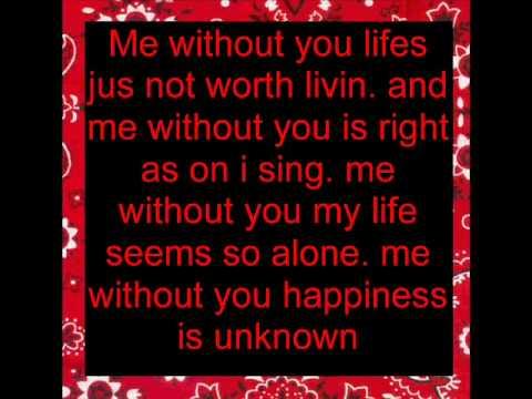 Me Without youCisko and Jessica  lyrics