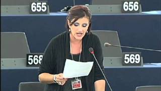 Sonia Alfano on Organised crime in the European Union [COMM Reding reply]