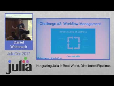 JuliaCon 2017 | Integrating Julia in Real-World, Distributed Pipelines | Daniel Whitenack