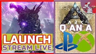 ARK EXTINCTION PS4 XBOX LAUNCH - LIVE Q N A WAITING FOR DLC