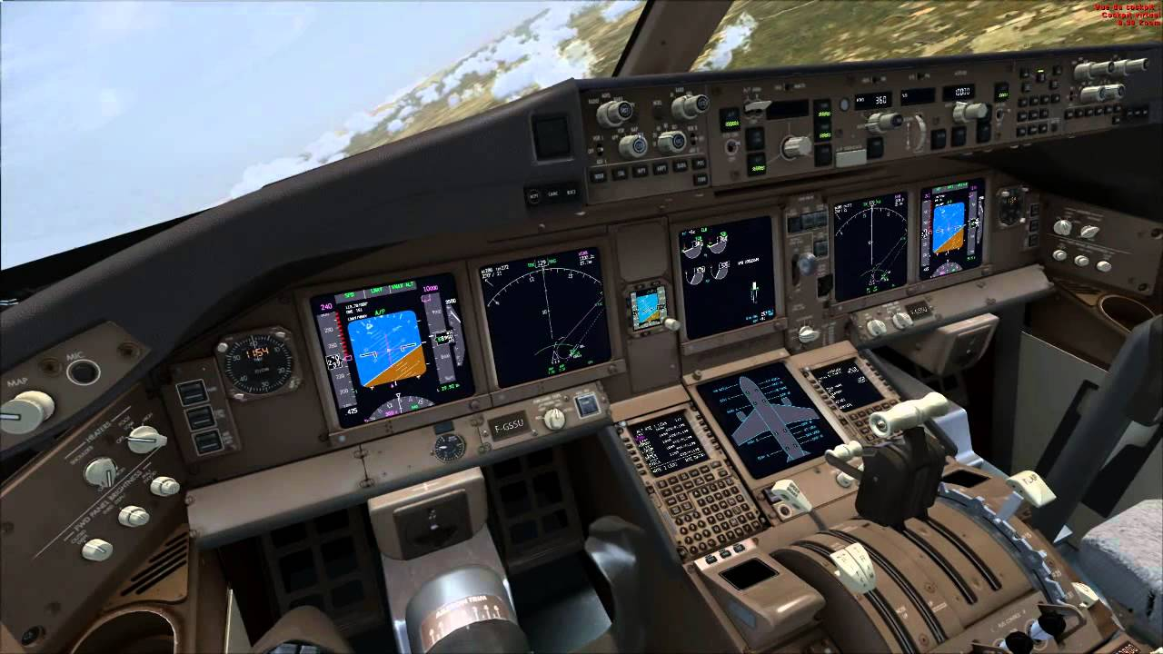 FSX PMDG 777 Tuto/Vol complet - Cold and Dark - ILS | FR - HD