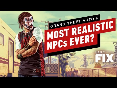 How GTA 6's NPCs Might Be The Most Realistic Ever - IGN Daily Fix