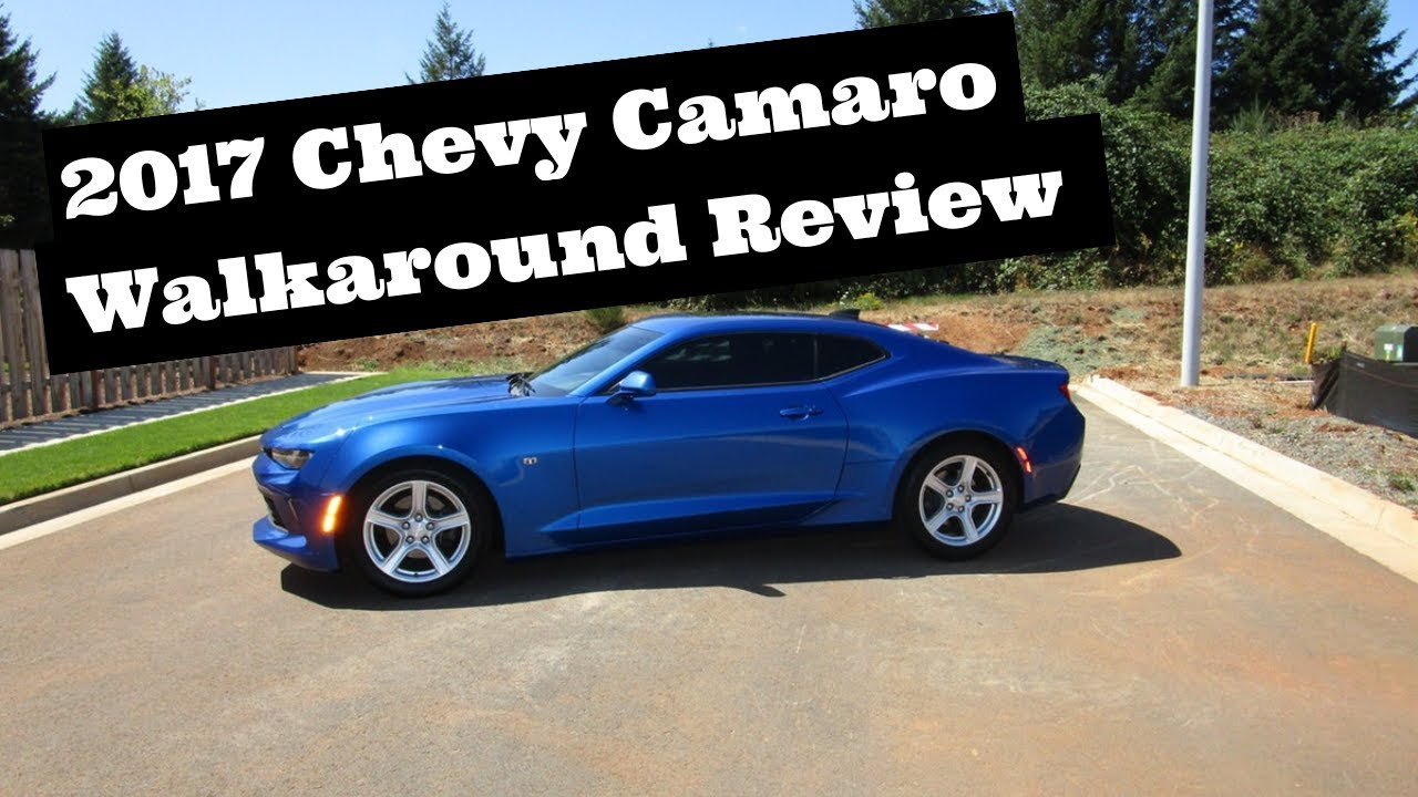 2016 Chevrolet Camaro Coupe Configurations >> 2017 Chevrolet Camaro Walkaround Review Features Configurations Colors Interior Packages