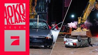 Autos zerstören und Bagger fahren! Spiel 4: Sabotier, so ich dir | Joko & Klaas gegen ProSieben