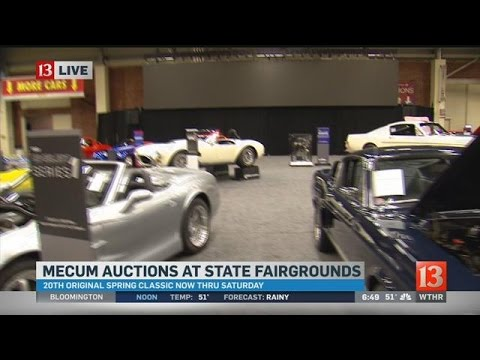 Car Auction Features Incredible Showcase At Indiana State - Car show indiana state fairgrounds