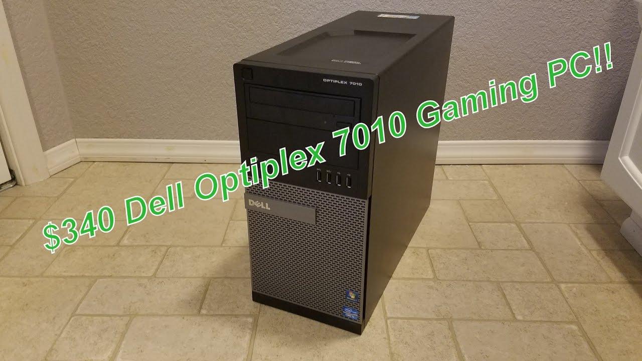 Dell Optiplex 7010 - $340 Gaming Upgrade w/Geforce GTX 1050 Ti