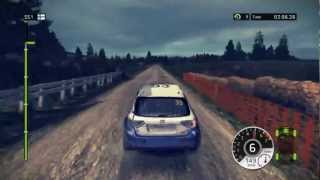 WRC 2 FIA World Rally Championship 2011 on EVGA GTX 460 Gameplay 1080p