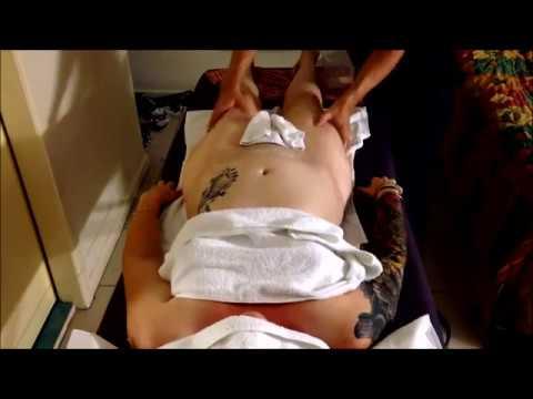 Full Body Massage ll Woman Stress Relief, Thighs, Tummy ll ญี่ปุ่นป้าเซ็กซี่