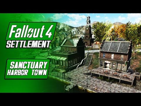 Sanctuary Harbor Town - Fallout 4 Mods - Sanctuary Overhaul (GreekRage) - Fallout 4 Settlement Build
