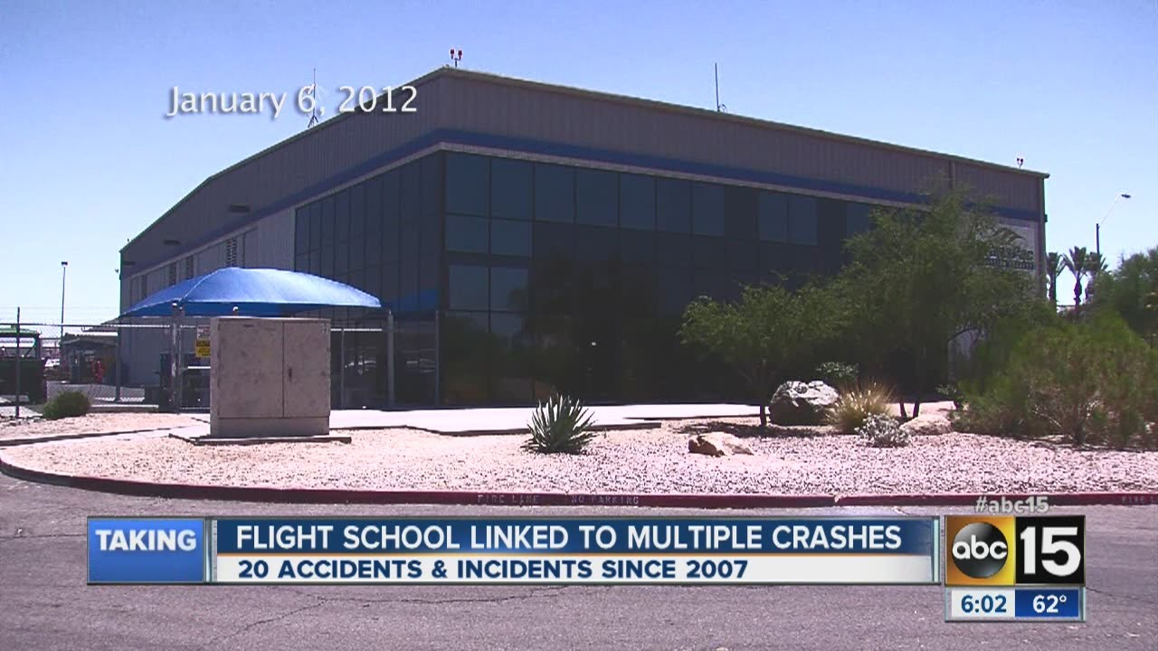 Flight School Linked To Multiple Crashes Youtube