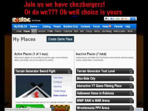 Roblox NEW 2011 Halloween Website Tour - YouTube