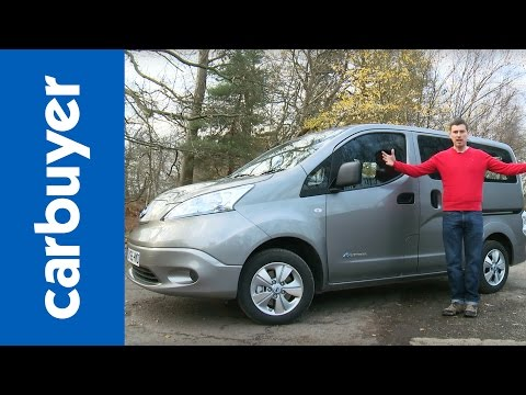 Nissan e-NV200 Combi 2016 review - Carbuyer