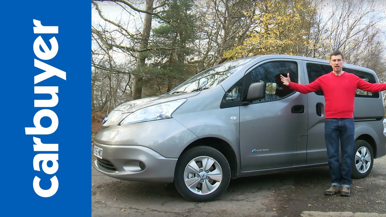2016 nissan e nv200 combi in depth review carbuyer youtube. Black Bedroom Furniture Sets. Home Design Ideas