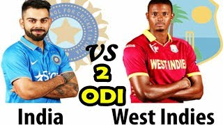 India Vs West Indies 2nd ODI Match Preview and Predictions