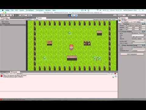 Grid Movement 2D RPG Unity - Test 2