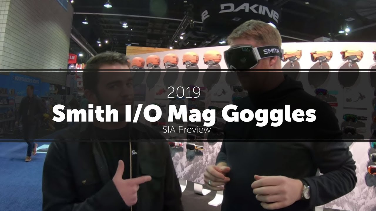 f630d3d2e6 2019 Smith I O Mag Goggles - Preview - YouTube