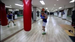 40대의 나이가 믿기지 않는 정수권투 관장님의 복싱 샌드백 훈련! boxing sandbag training!