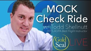 MOCK Check Ride w/ Todd Shellnut | Gold Seal LIVE