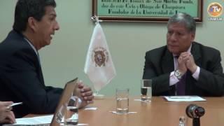 Tema: UNMSM Recibe Vista de Delegación Oficial de la FUCS - Colombia
