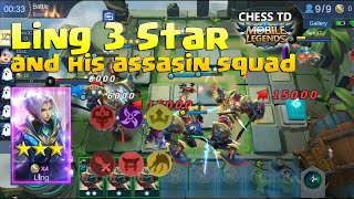 Chess TD Assassin Demon & Dragon Altars Synergy Mobile Legends Perfect Combo Compilation