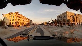 Mexico Beach Highway 98 After Hurricane Michael 10-12-18