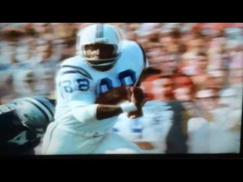 Super Bowl V Highlights: Baltimore Colts vs. Dallas Cowboys (1971)