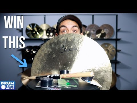 100,000 Subscribers?! - It's time for YOU to Win Some FREE Drum Gear
