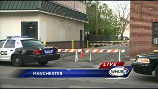 Heavy police presence at shooting scene in Manchester