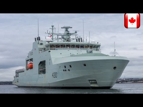 Canada receives first new Arctic and Offshore Patrol Ship