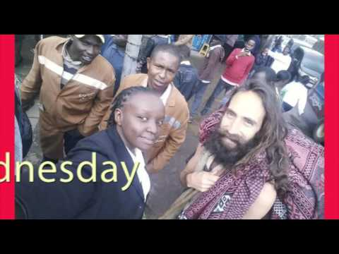 'Jesus' walks on Nairobi streets BAREFOOT and Kenyans are unable to deal