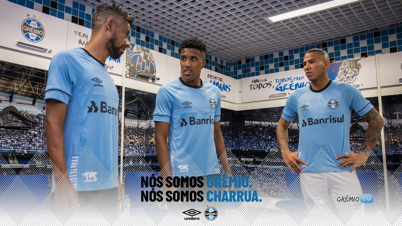 Charrua  O Novo Manto Tricolor l GrêmioTV - YouTube d6376d2591528