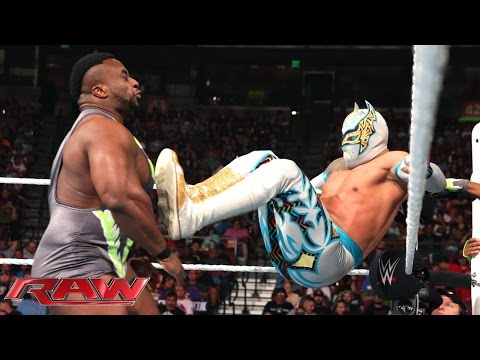 The Lucha Dragons vs. The New Day: Raw, April 6, 2015