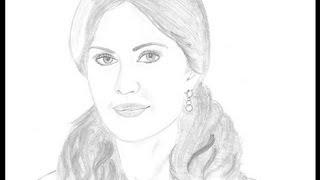 Drawing Katrina Kaif