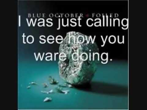 Blue October Hate Me With Lyrics (Full Version)