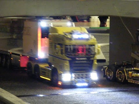 Rc trucks @ Leyland Rc Hydraulics Tamiya Wedico LKW Scania Rc Loader 2014 Archive