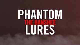 "Phantom Lures ""Banshee"" Series Crankbaits - Underwater Action"