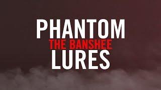 "Phantom Lures ""Banshee"" Series Crankbaits - Underwater Action"