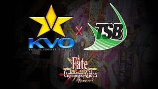 Top 3 Winners/Losers/Grand Finals - KVO x TSB 2017 - Day 3 - Fate/Unlimited Codes