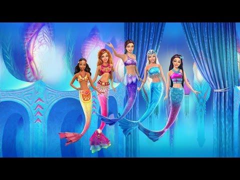 Mermaid Tail Barbie Mainan Barbie Putri Duyung