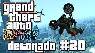 Triple Backflip do Carnaval - GTA 4 Gay TBoGT - Detonado/Gameplay (Xbox 360/PS3/PC) - Parte 20