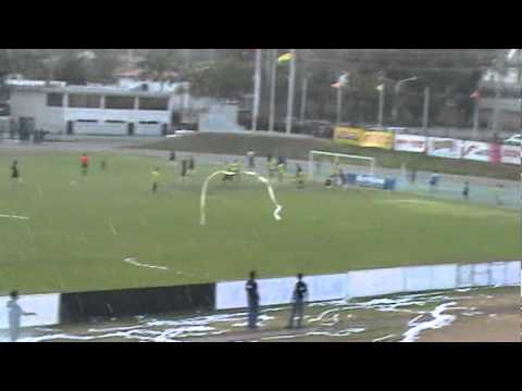 Gol del Carabobo F.C. vs Atletico el Vigia F.C.