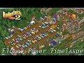 RollerCoaster Tycoon 2: Flower Power (Woodstock) Timelapse