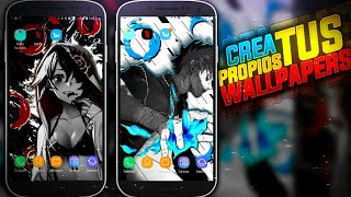 CREA TUS PROPIOS WALLPAPERS EN ANDROID | Shadow Droid | Ps Touch