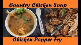 Nattukozhi Soup   Country Chicken Soup