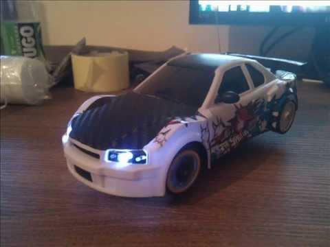Nissan Skyline Rc Drift Car Paint Job And Carbon Hood Youtube